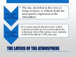 the layers of the atmosphere15
