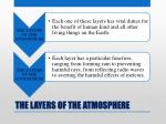 the layers of the atmosphere8