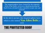 the protected roof12