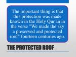 the protected roof15