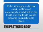 the protected roof22