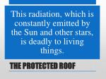 the protected roof9