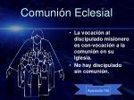 comuni n eclesial