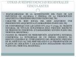 otras jurisprudencias registrales vinculantes1