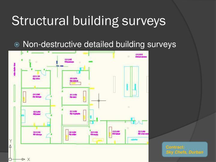 Structural building surveys