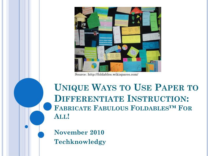 unique ways to use paper to differentiate instruction fabricate fabulous foldables for all n.