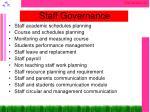 staff governance