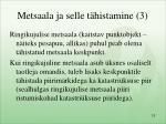 metsaala ja selle t histamine 3
