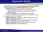 negotiation models