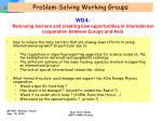 problem solving working groups4