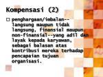 kompensasi 2