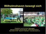 wilhelmshaven bewegt sich23