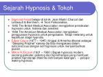 sejarah hypnosis tokoh