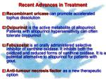 recent advances in treatment