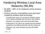 hardening wireless local area networks wlan