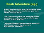 book adventure eg