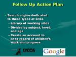 follow up action plan