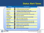 status alert tones