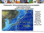 pods vanie tichooce nskej platne pod euro zijsk v japonskej priekope pr ina vzniku zemetrasen