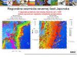 region lna seizmicita severnej asti japonska