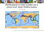 zemetrasenia vo svete za jeden rok a ohniv kruh okolo tich ho oce nu