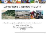 zemetrasenie v japonsku 11 3 2011