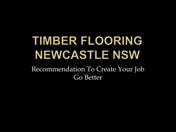 timber flooring newcastle nsw n.