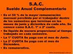 s a c sueldo anual complementario