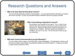 research questions and answers1
