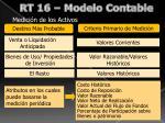 rt 16 modelo contable
