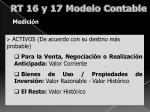 rt 16 y 17 modelo contable