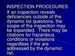 inspection procedures3