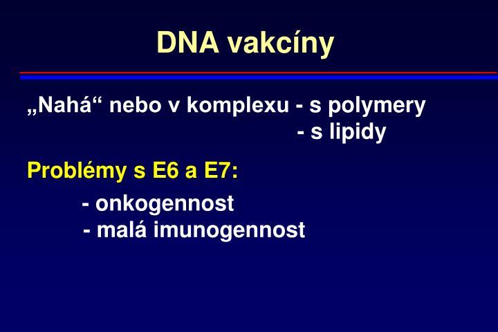 DNA vakcíny