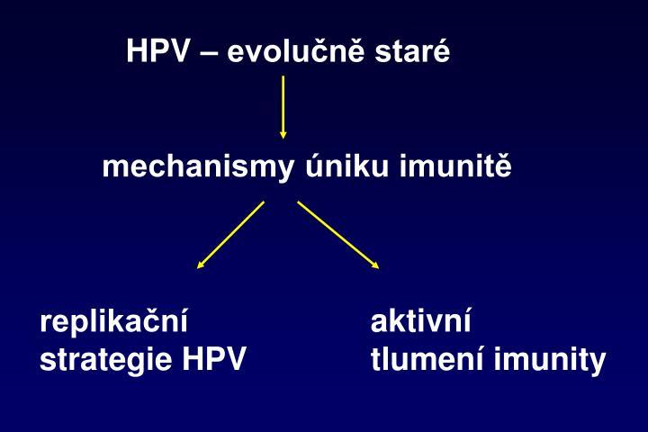 HPV – evolučně staré