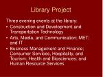 library project2
