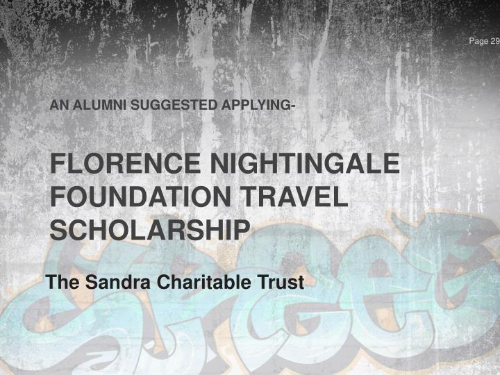 The Sandra Charitable Trust