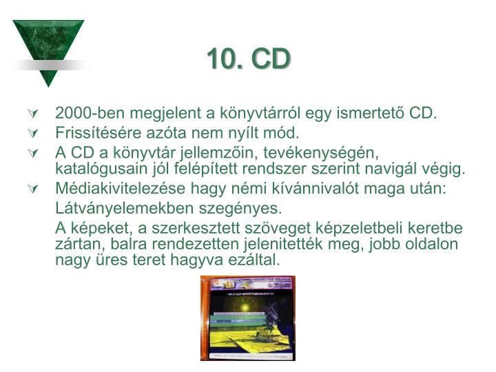 10. CD