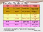 feudal system raft3