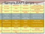 sample raft strips3