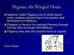 pegasus the winged horse