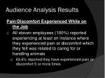 audience analysis results2