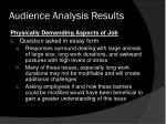 audience analysis results7