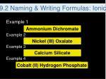 9 2 naming writing formulas ionic11