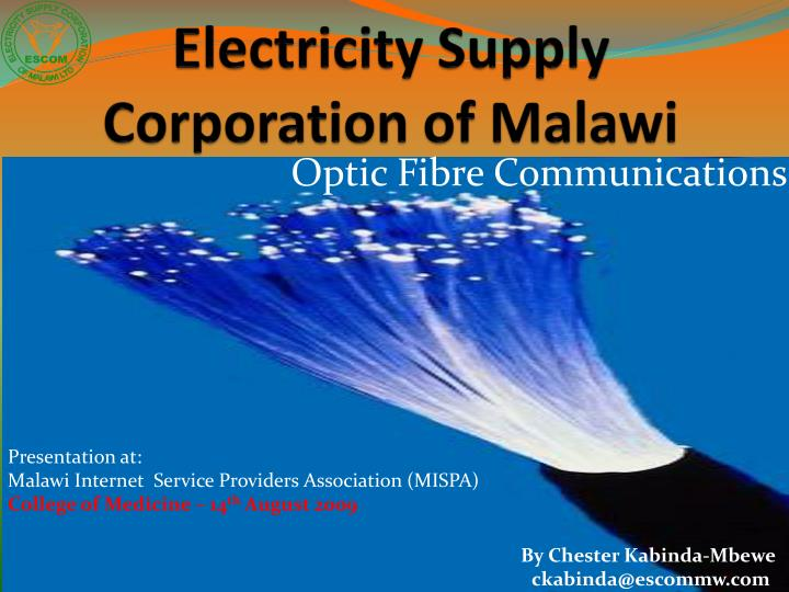 electricity supply corporation of malawi n.