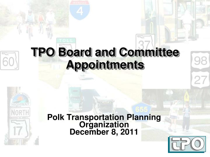 tpo board and committee appointments n.
