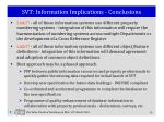 svt information implications conclusions
