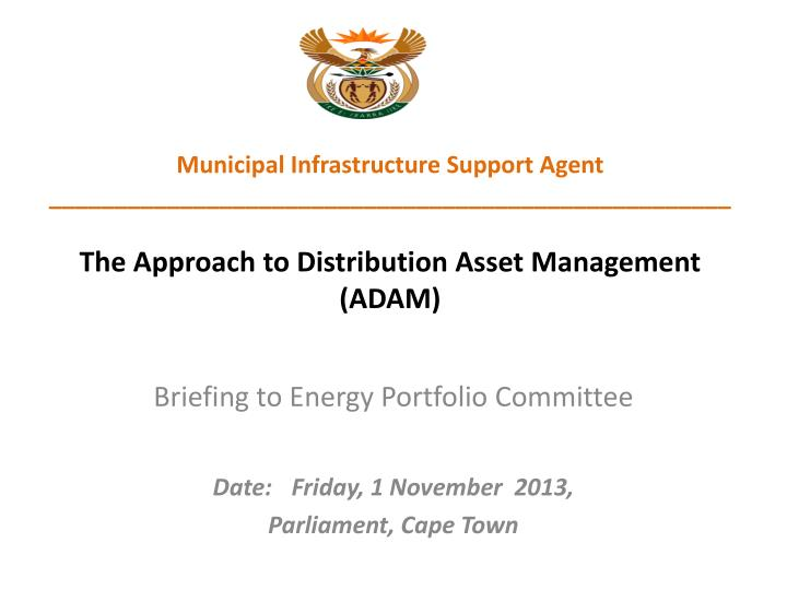 briefing to energy portfolio committee date friday 1 november 2013 parliament cape town n.