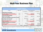 multi year business plan