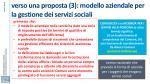 verso una proposta 3 modello aziendale per la gestione dei servizi sociali