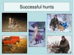 successful hunts